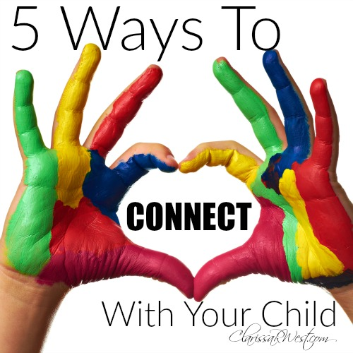 Whether you have one child or several children, you must be intentional about connecting with them. Especially if you have children with medical-special needs and children who are relatively healthy. Life often revolves around the medically needy child(ren) and the other child(ren) may feel left out. You will want to find ways to connect with your child on a regular basis - daily, weekly, monthly, and yearly.