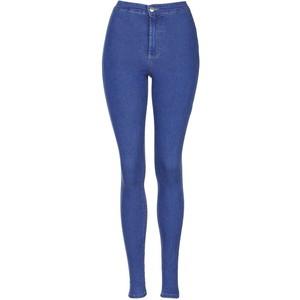 Topshop Moto pretty blue joni jeans