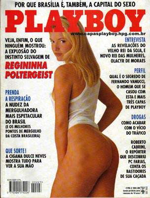 Regininha Poltergeist - Playboy 1994