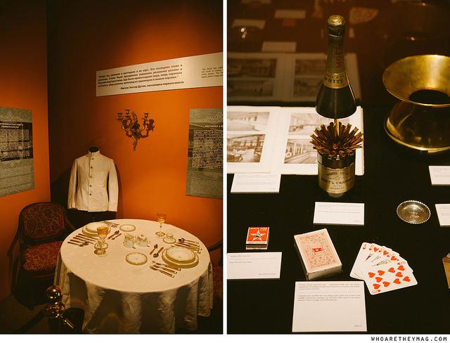 Экспонаты выставки «ТИТАНИК: как это было. Погружение в историю»