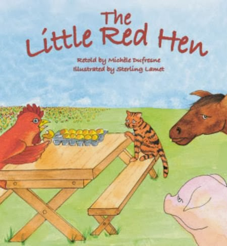 bookcover of THE LITTLE RED HEN  by Michèle Dufresne