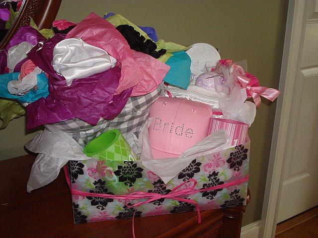 Wedding Shower Gift Ideas Diy : Diy Bridal Shower Gift Ideas Bride ball cap - for another