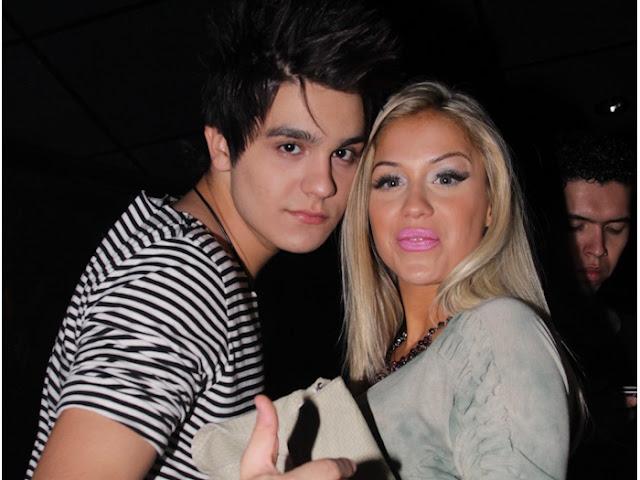 Carol Balli e Luan Santana