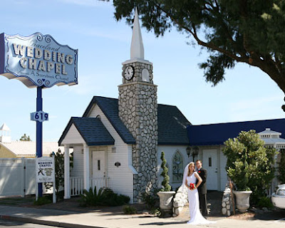 Most Las Vegas outdoor wedding chapels have acres of gardens with a peaceful and romantic oasis