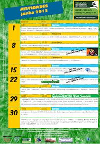 Agenda de junho 2013