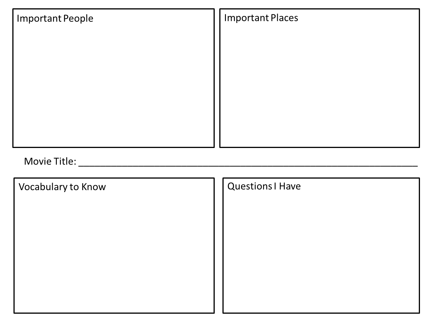 Free Graphic Organizers for Teaching Literature and Reading Pinterest Book reports