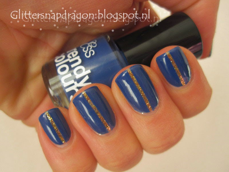 Nicole by OPI Twist of Fate & Ess Trendy Colours Midnight Blue