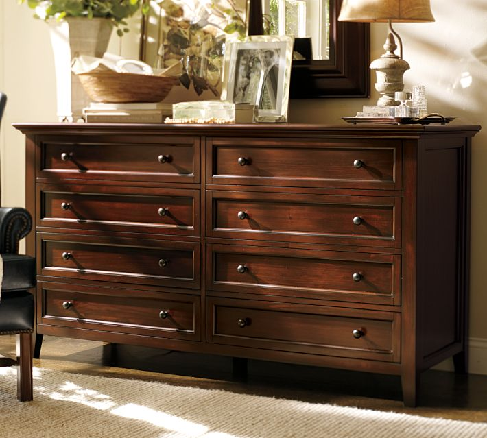 pottery barn - Dresser Decor
