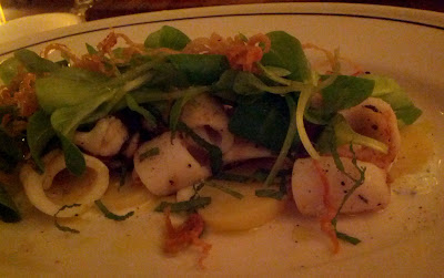 Squid at Ken and Cook in New York, NY - Photo by Taste As You Go