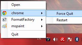 Task ForceQuit