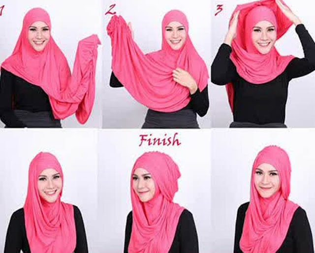 Simpelnya Hijab Ala Artis Zaskia Adya Mecca