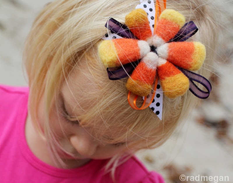 radmegan: in words and pictures: Needle-Felted Candy Corn ...