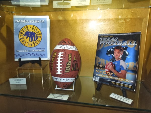 Original Friday Night Lights props