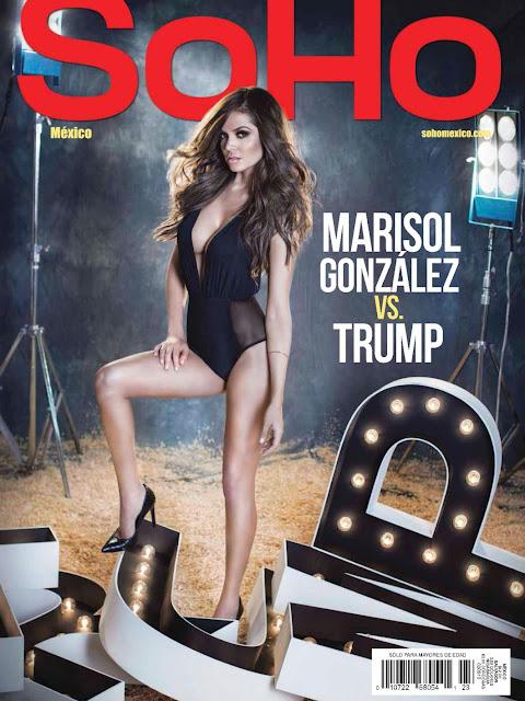 Marisol González Revista SoHo México Agosto 2015 + PDF