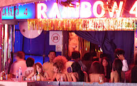 Thailand nightlife at Nana Bars