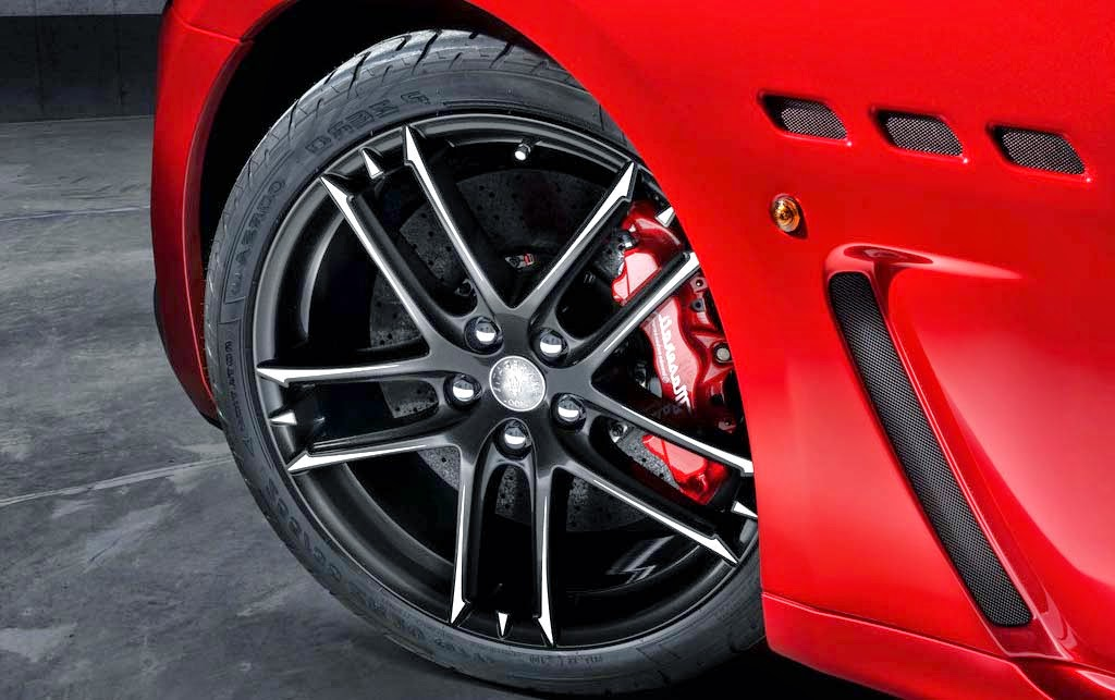 2015 Maserati GranTurismo MC Stradale Centennial Rim Wheel