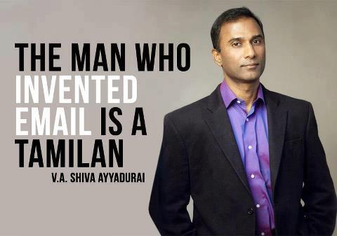 The Man Who Invented E-Mail Is An Tamilan