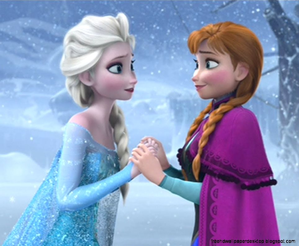 anna and elsa frozen free high definition wallpapers. Black Bedroom Furniture Sets. Home Design Ideas