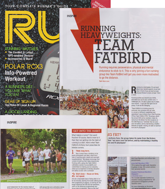 Team FatBird @ RUN Singapore
