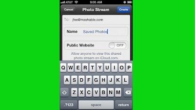 Create a Custom Photo Stream