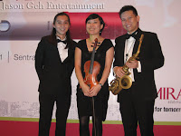 The musicians that make up the Jazz Trio