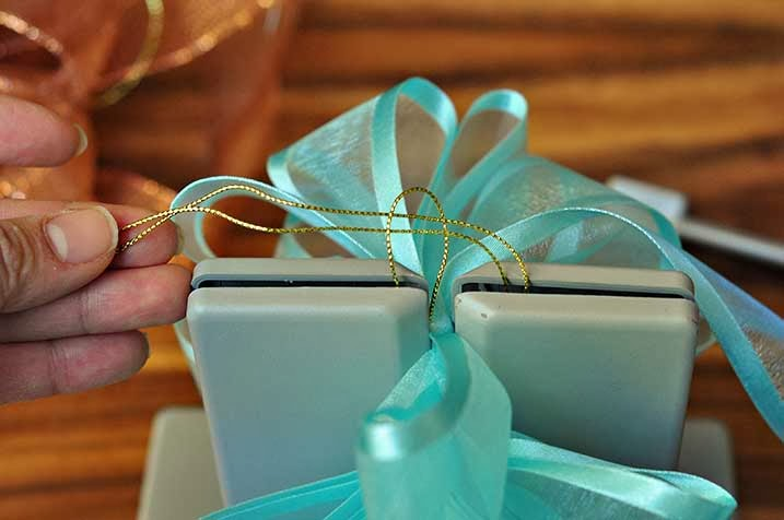 The Cheese Thief: How To Make Pretty Puffy Bows And A Giveaway!