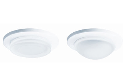 The Illuma Fireseal DF1082 fire-rated downlight, domed fireproof downlight