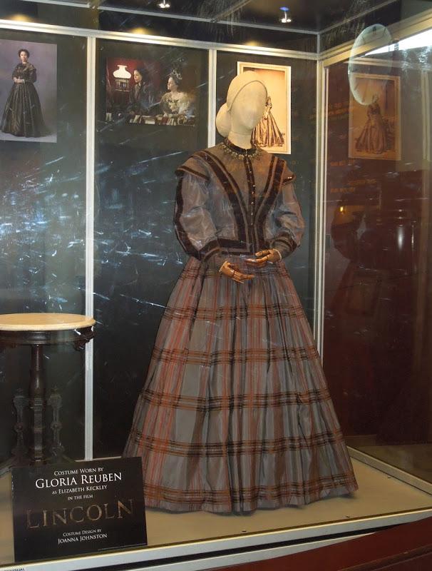 Gloria Reuben Elizabeth Keckley Lincoln gown