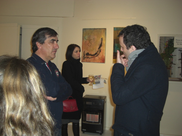 Francisco with guests