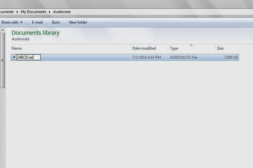 how to change a rar file to mp3