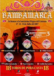 CARTEL DE BAMBAMARCA