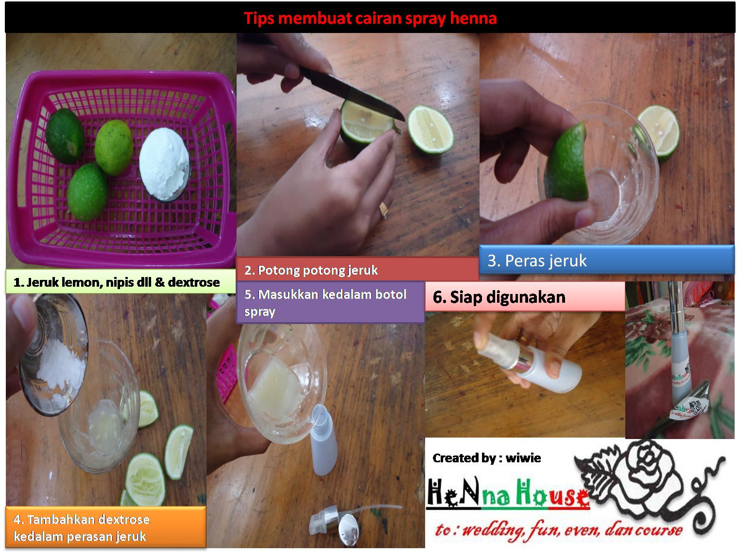 Henna House By Wiwie Cara Membuat Henna Paste