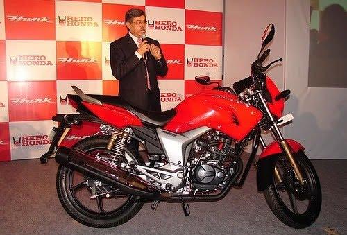 Latest Bykes Hero Honda New Hunk 2011