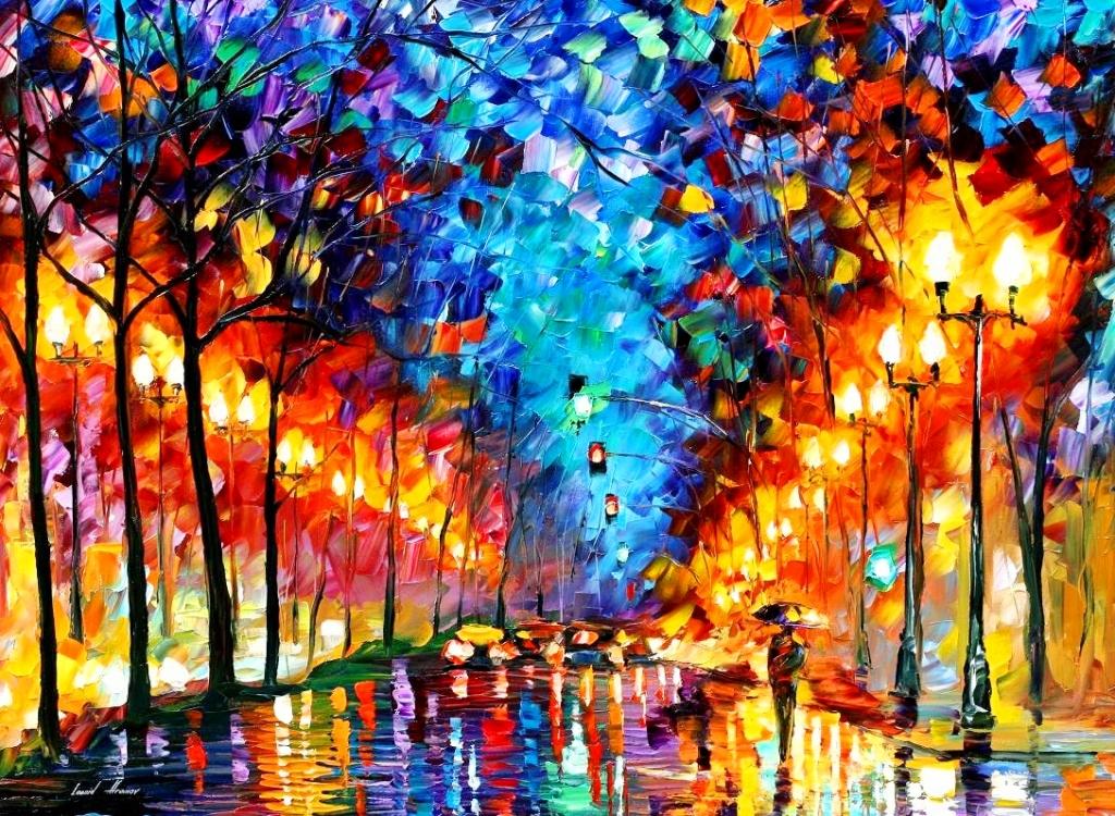 Im genes arte pinturas paisajes con esp tula for Definicion de pintura mural