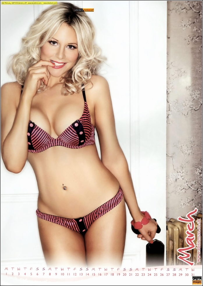 abi titmuss hot calendar girl