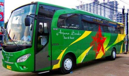 Bus Pariwisata Arjuna Samba