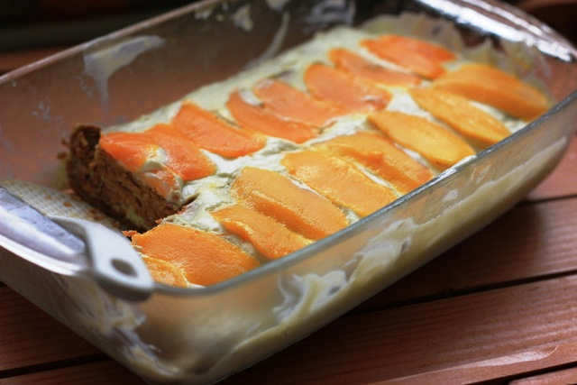 Refrigerated Cake Graham Mango Float