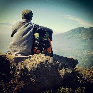 Pemandangan Gunung Penanggungan