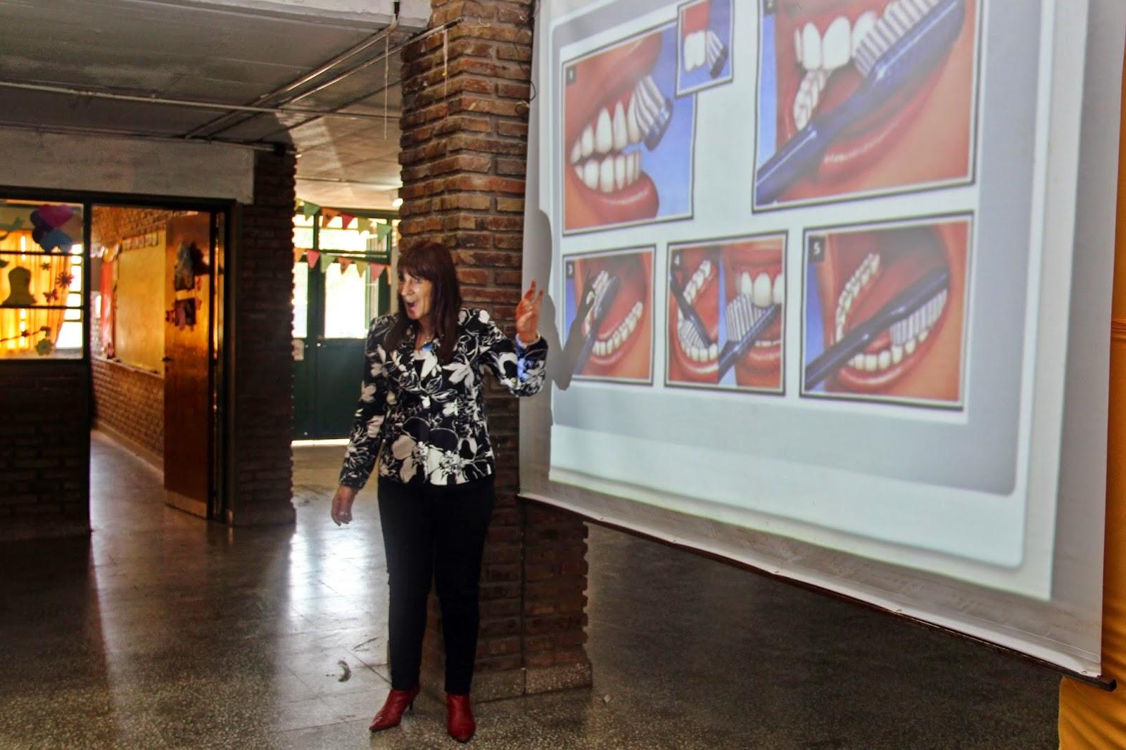 La campaña de salud bucal visitó la escuela Nº 1291