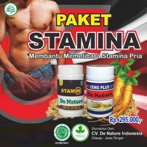 Paket Stamin dan Ceng Plus De Nature