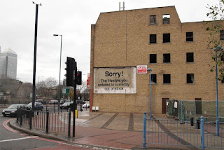 Banksy- Sorry the lifestyle that you have ordered is out of stock