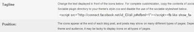 Menambahakan Button Facebook Like di Blogdetik