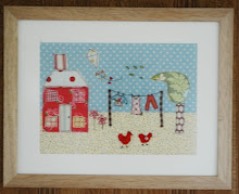 NEW: Handmade Machine Embroidered Patchwork Pictures to buy