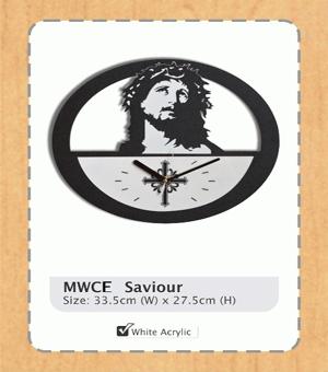 jam dinding Yesus Kristus