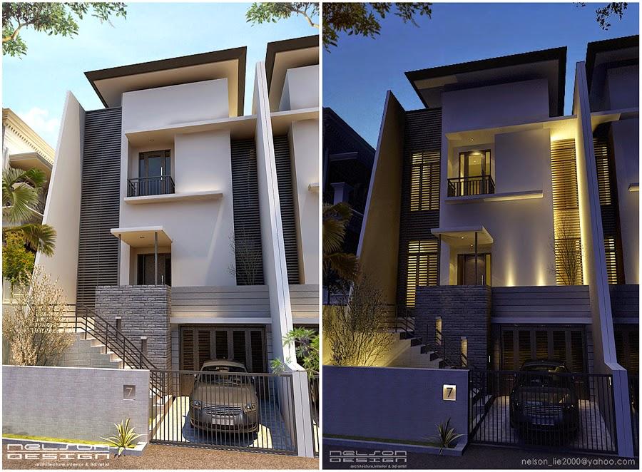 gambar rumah 2 lantai minimalis