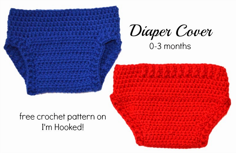 Crochet Patterns Diaper Covers : Diaper Cover