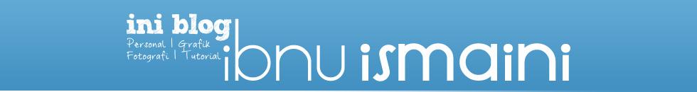 Ini blog Ibnuismaini