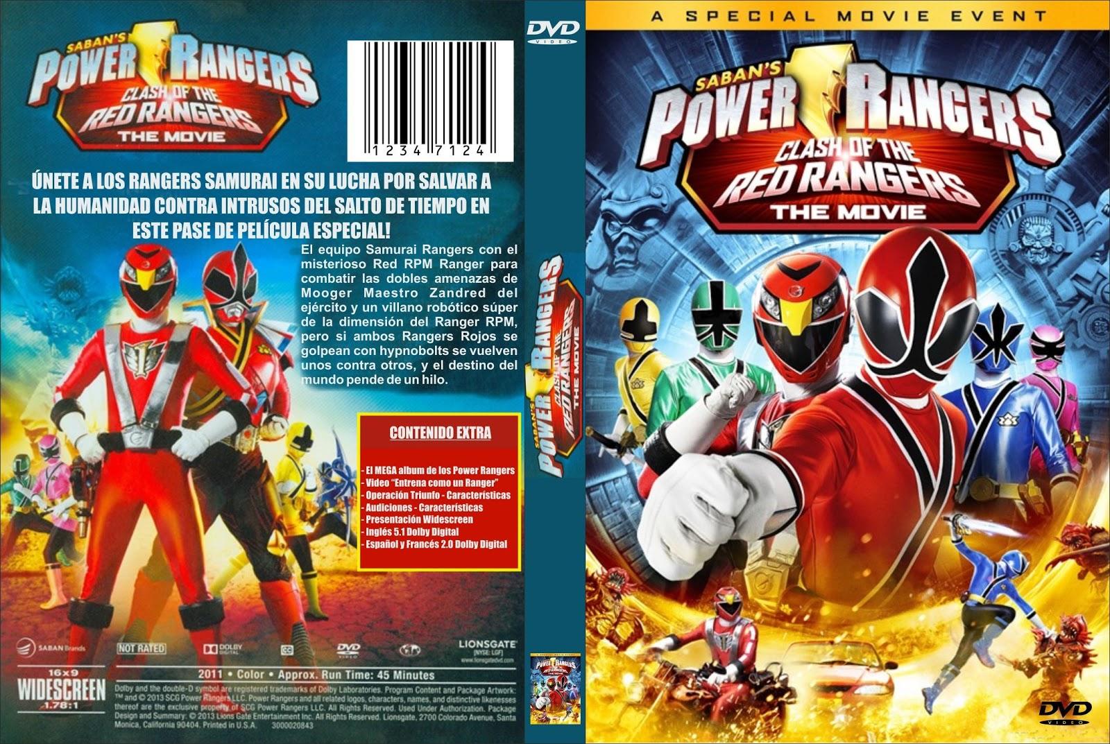 Power Rangers: Samurai Clash Of The Red Rangers The Movie (2013) - Hindi
