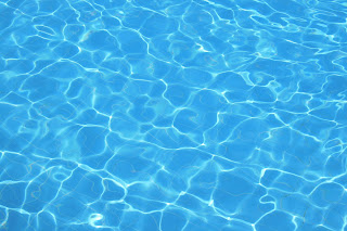 Clear pool water picture
