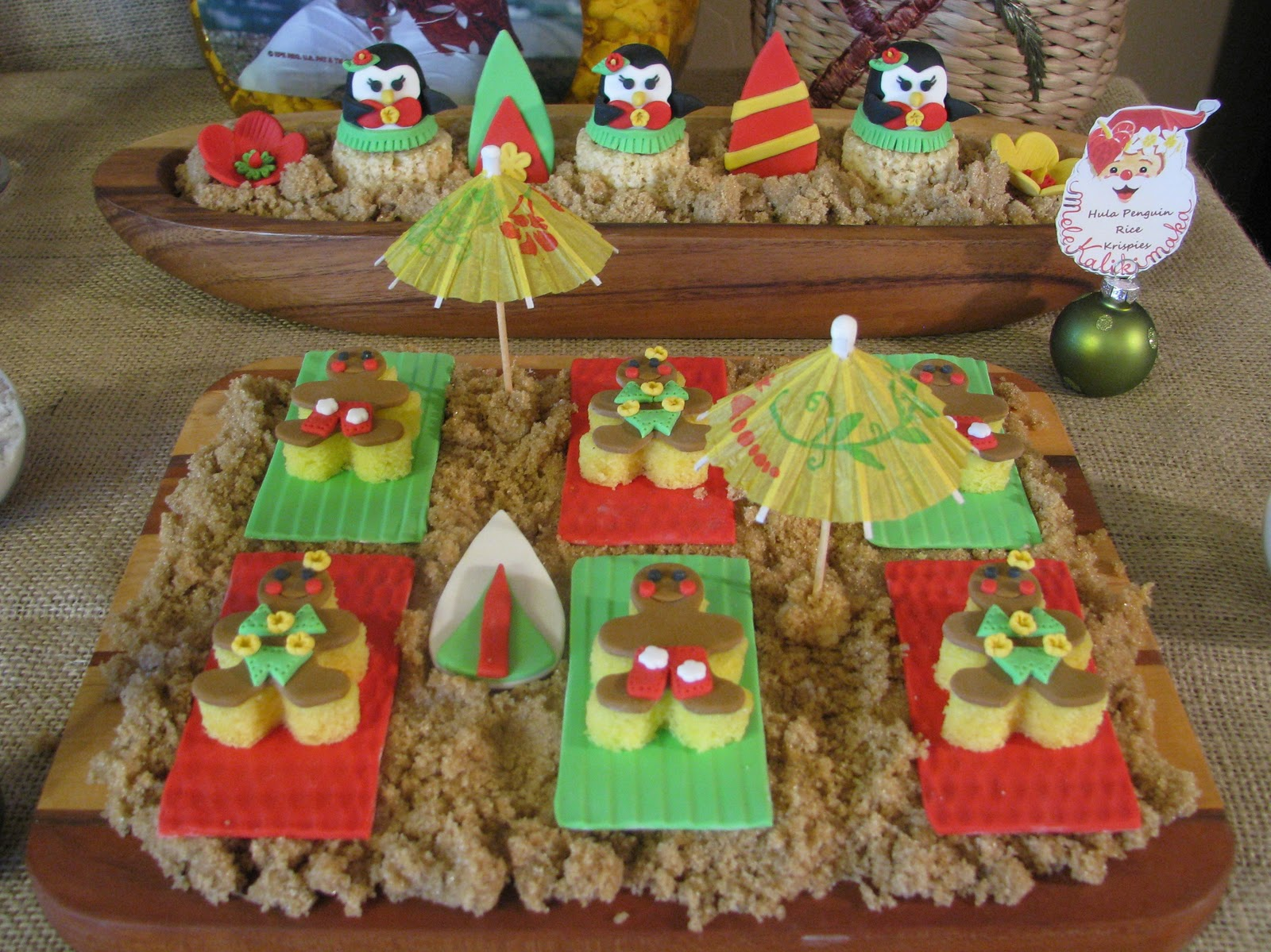 Hawaiian Christmas Party Ideas Part - 30: Mele Kalikimaka!